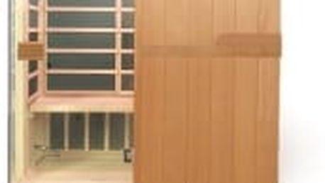 HEALTHLAND DeLuxe 3300 Carbon infrasauna s karbonovým topidlem podlahové topení zdarma!!!