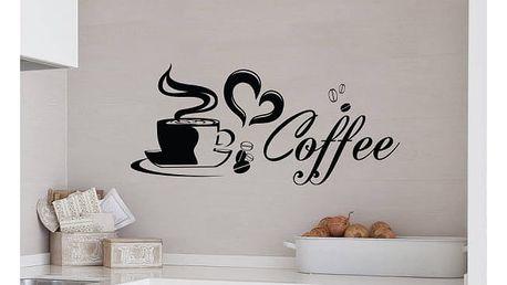 Samolepka na zeď - Šálek kávy