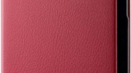 Pouzdro Huawei Folio Huawei P8 Lite červené Červená