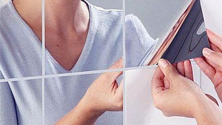 Akrylové zrcadlo složené z 9 čtverců