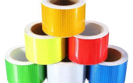 Reflexní páska ve více barvách - 5 metrů