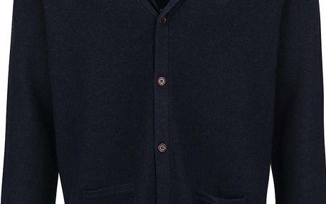 Tmavě modrý cardigan Original Penguin Mason
