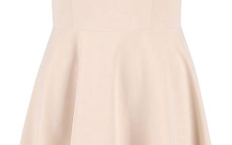 Béžové šaty VILA Sonni
