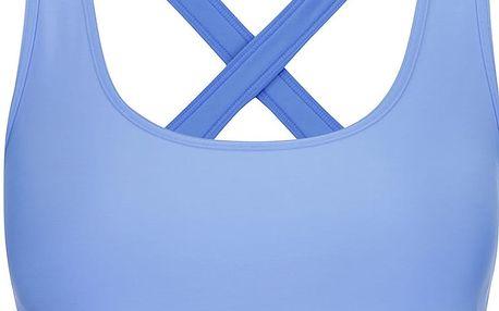 Modrá sportovní podprsenka Under Armour Crossback