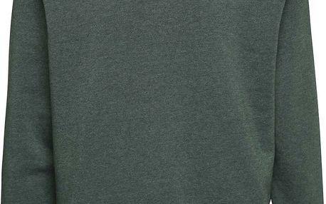 Tmavě zelená pánská mikina Vans Core
