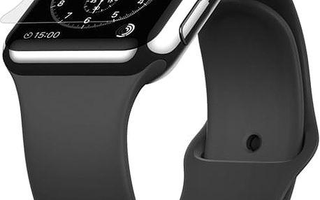 BELKIN Apple Watch 42mm invisiglass 1 pack Čirá