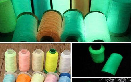 Fluorescenční nit - různé barvy