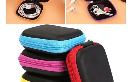 Pouzdro na sluchátka v různých barvách