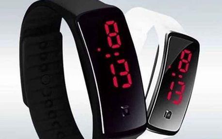 Digitální hodinky ze silikagelu