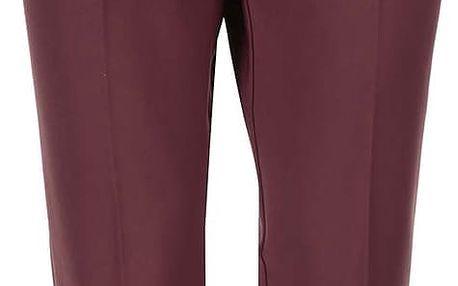 Hnědočervené kalhoty s puky s.Oliver