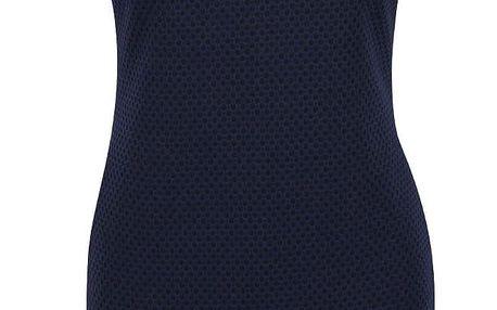 Černo-modré vzorované šaty VILA Clemment