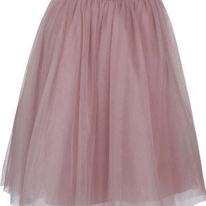 Starorůžová tylová sukně Chi Chi London Alena