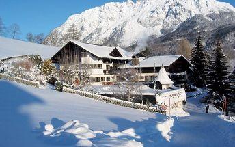 Rakousko - Schladming / Dachstein na 5 dní, polopenze s dopravou vlastní