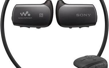 MP3 přehrávač Sony NWZ-WS615B černý + Doprava zdarma