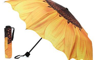 Deštník s motivem slunečnice - dodání do 2 dnů