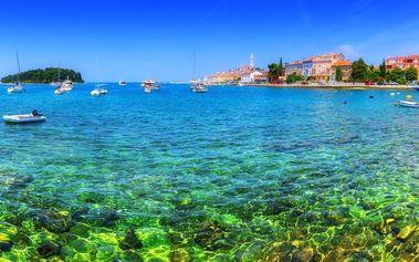 1denní koupání u moře na chorvatské Istrii