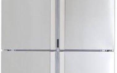 Kombinace chladničky s mrazničkou Beko GNE 114631 X nerez + Doprava zdarma