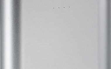 RivaCase RIVAPOWER 1015, 15000mAh, stříbrná - RP-VA1015