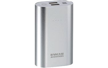 RivaCase RIVAPOWER 1010, 10000mAh, stříbrná - RP-VA1010