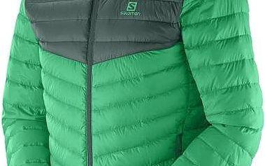 Pánská bunda Salomon Halo Down II, zelená