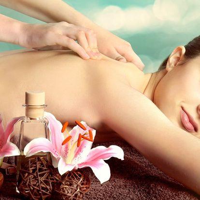 Hodinová masáž dle výběru z pěti variant