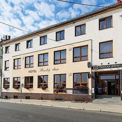 3–5denní pobyt v hotelu Panský dům Blovice u Plzně pro 2 s polopenzí s možností vířivky
