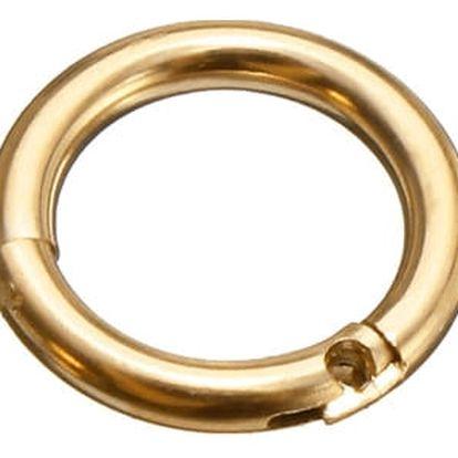 Piercing v podobě jednoduchého kroužku - 4 barvy