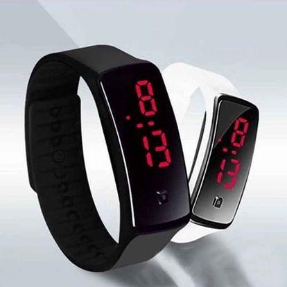Digitální hodinky ze silikonu - dodání do 2 dnů