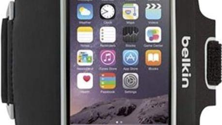 Pouzdro BELKIN Sport-Fit Plus iPhone 6 Plus/6s Plus, černé Černá