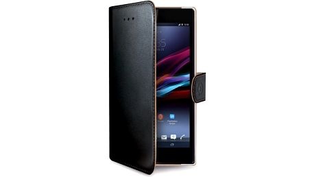 CELLY Wally pouzdro typu kniha pro Sony Xperia Z3+/Z4 PU kůže černé