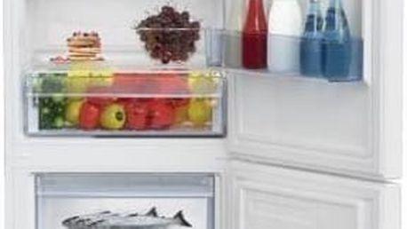 Kombinace chladničky s mrazničkou Beko CSA 365 K30W bílá + Doprava zdarma