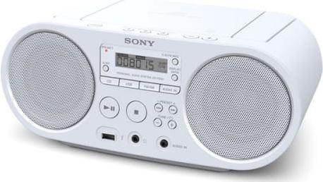 Radiopřijímač s CD Sony ZS-PS50W bílý