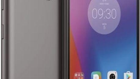 Mobilní telefon Lenovo K6 Dual SIM (PA530039CZ) šedý