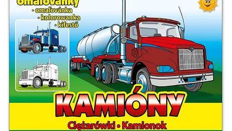 Omalovánky - Kamióny - dodání do 2 dnů