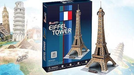 3D puzzle - Eiffelova věž