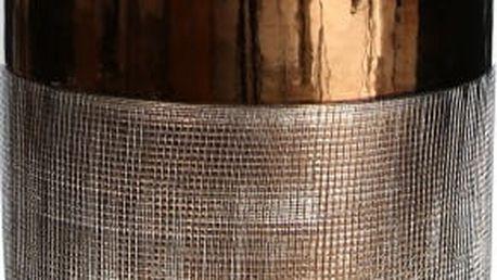 Keramická váza bronzové barvy Ixia Julianna - doprava zdarma!
