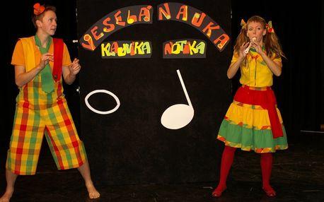 Dětské představení Veselá nauka klauníka Notíka