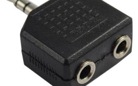 Rozdvojka na sluchátka pro MP3 přehrávače - dodání do 2 dnů