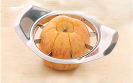 Kráječ ovoce a zeleniny ve stříbrné barvě