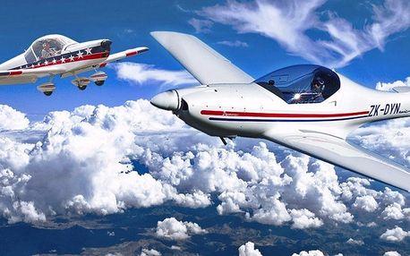 Pilotem na zkoušku: instruktáž a řízení letadla