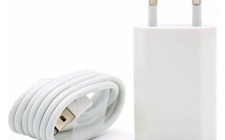 Síťová nabíječka pro iPhone řady 5 a novější