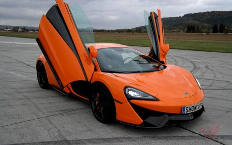 Jízda v supersportu McLaren ve Středočeském kraji