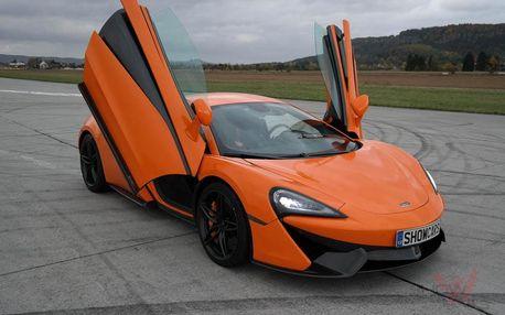 Jízda v supersportu McLaren v Praze