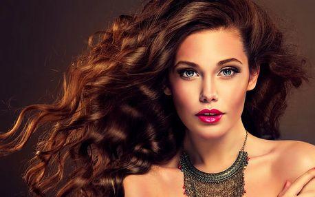 Profesionální prodloužení vlasů metodou tapex