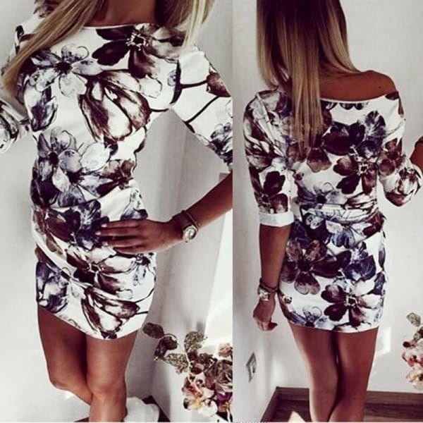 Elegantní dámské mini šaty
