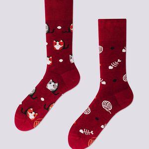 Ponožky Many Mornings Playful Cat, vel. 35/38