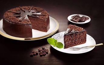 Luxusní čokoládový dort ze Snack & Rolls
