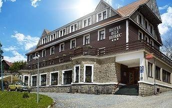 Letní wellness pobyt v Krkonoších ve SPA Hotelu Bílý Hořec pro 2 osoby na 3 - 8 dní.