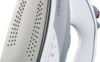 Žehlička Braun TexStyle 5 TS535TPA šedá/bílá + Doprava zdarma