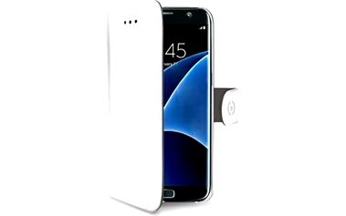 Pouzdro CELLY Wally Samsung Galaxy S7 Edge Bílá